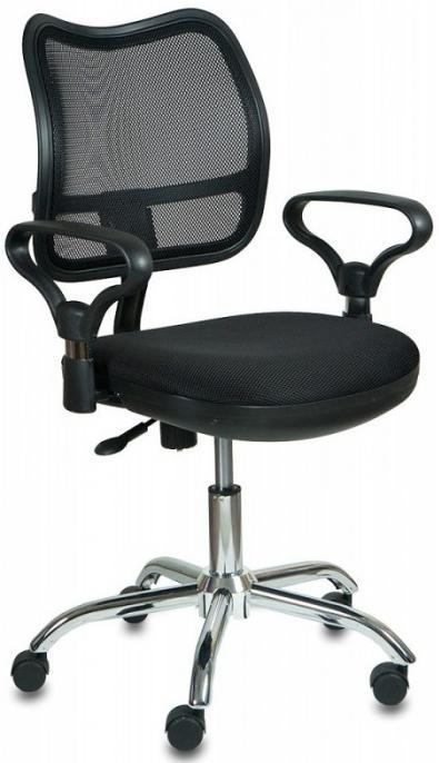 Офисное кресло Бюрократ CH-799SL/TW-11 черное CH-799SL/TW-11 Черное фото