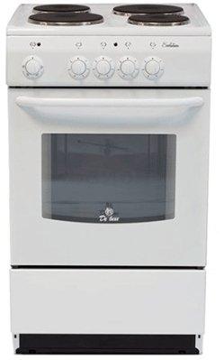 Плита электрическая De Luxe 5004.12э белый 5004.12Э DeLuxe