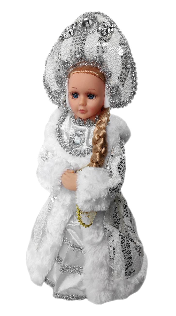 Снегурочка под елку SaintNik конфетница (9147-5) 0, 4 м, Белый, Китай  - купить со скидкой