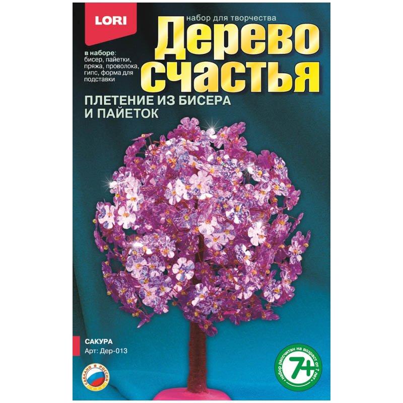 Купить LORI Дерево счастья Сакура [Дер-013], Пластик, металл, пряжа, гипс, Пластилин и масса для лепки