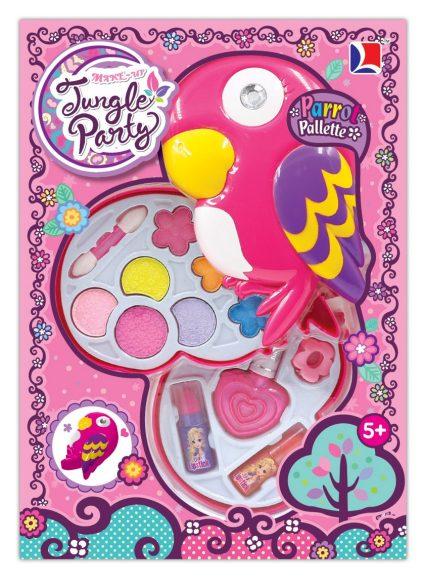 Купить SHANTOU Набор детской декоративной косметики Попугай , двухсекционный [1889271], розовый, Детская декоративная косметика и духи