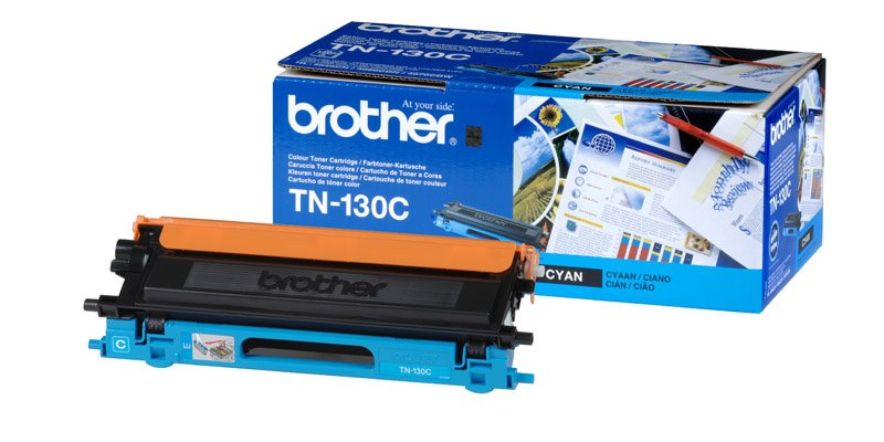 Картридж Brother TN-135C Cyan для Brother HL-4040CN/4050CDN/DCP-9040CN/MFC-9440CN TN135C