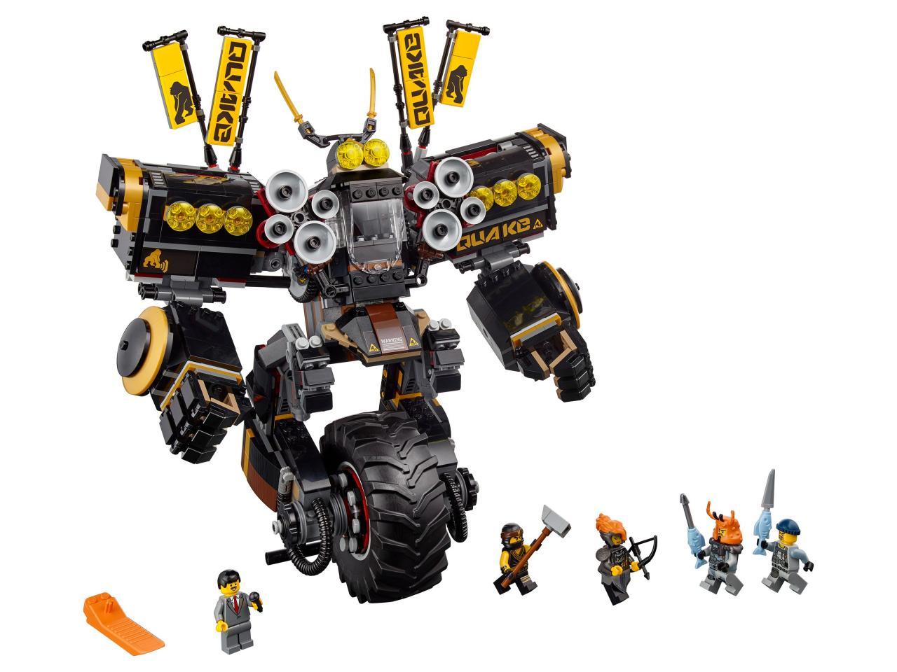 Купить Конструктор LEGO 70632 Ninjago Робот землетрясений, пластик, Для мальчиков и девочек, Дания, Конструкторы