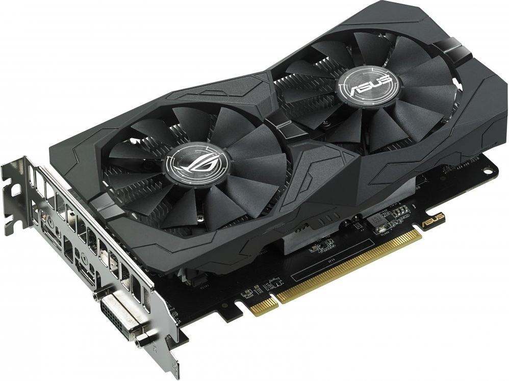 Видеокарта AMD (ATI) Radeon RX 560 ASUS PCI-E 4096Mb (ROG-STRIX-RX560-O4G-GAMING)