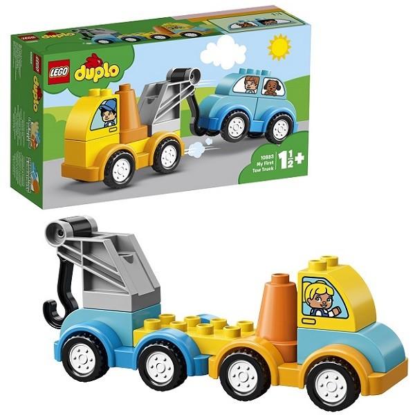 Купить LEGO Конструктор Lego Мой первый эвакуатор [10883], пластмасса, Конструкторы