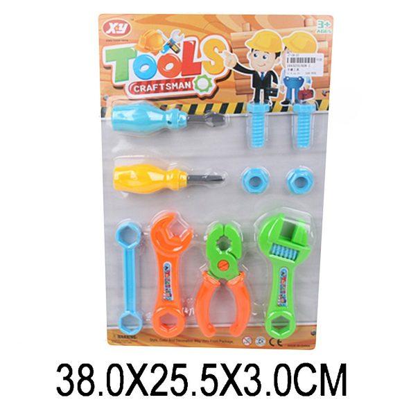 Купить НАША ИГРУШКА Набор инструментов, 6 предметов, [928-1], пластмасса, Детские наборы инструментов