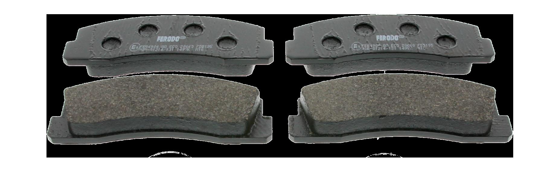 Колодки тормозные передние ВАЗ 2120 2121 2123 FERODO FDB195  - купить со скидкой