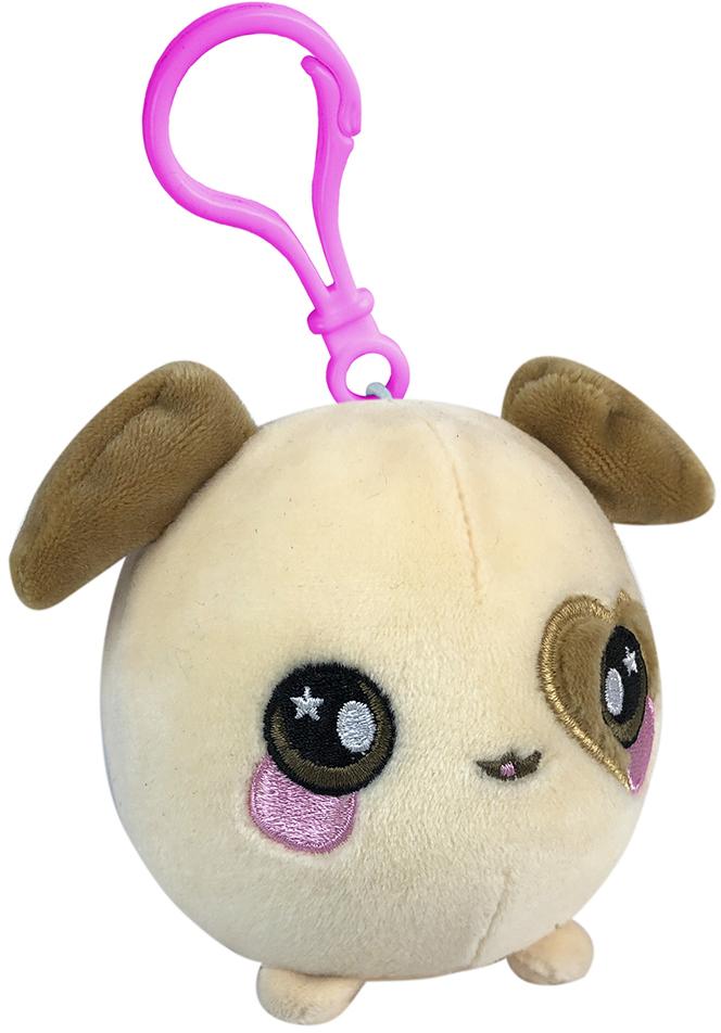 Ароматная мягкая игрушка Squeezamals Плямчик Щенок 6, 5 см (SQS00657), Бежевый, Китай  - купить со скидкой