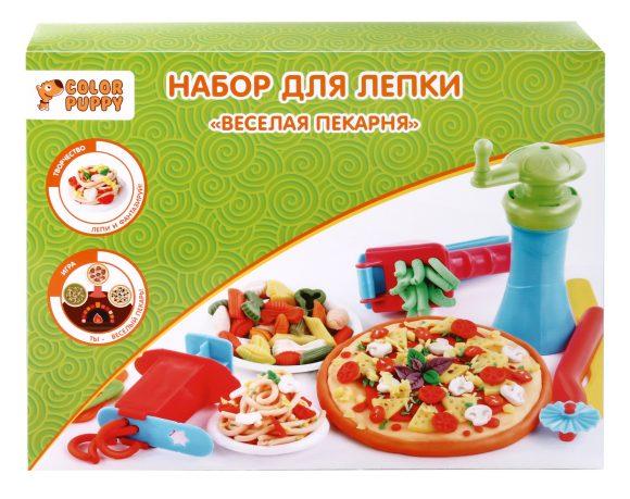 Купить COLOR PUPPY Набор для лепки Веселая пекарня [631027], Пластилин и масса для лепки