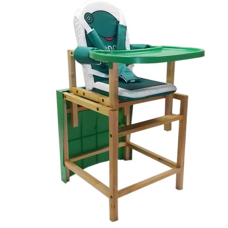 Купить 12358003, BABYS Стол-стул для комления серия лакированный [FROGGY], Стульчики для кормления малышей