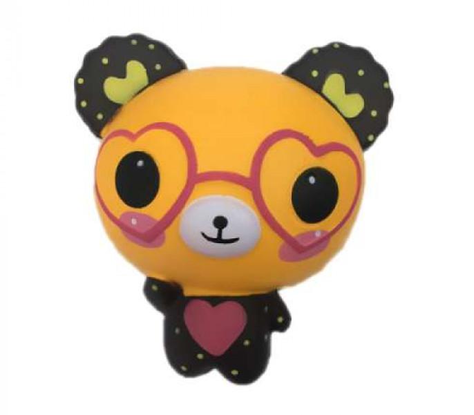 Купить 1 TOY Игрушка-антистресс М-м-мняшка. Медвежонок в очках , 12 см [Т14694], вспененный полимер, Игровые наборы и фигурки для детей