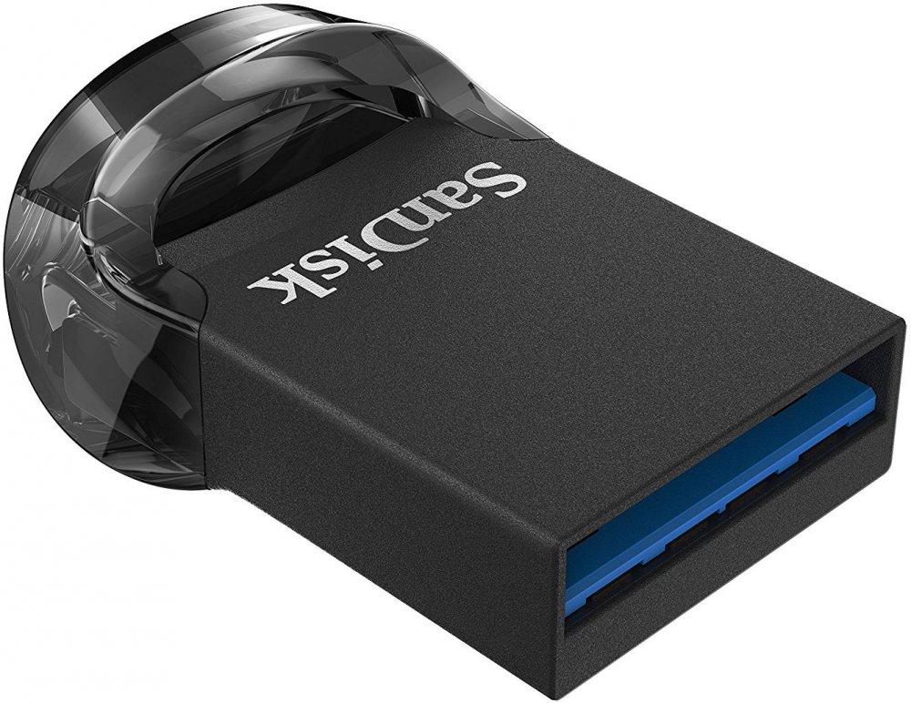 Купить USB Flash накопитель 128Gb Sandisk Ultra Fit USB3.1 (SDCZ430-128G-G46)
