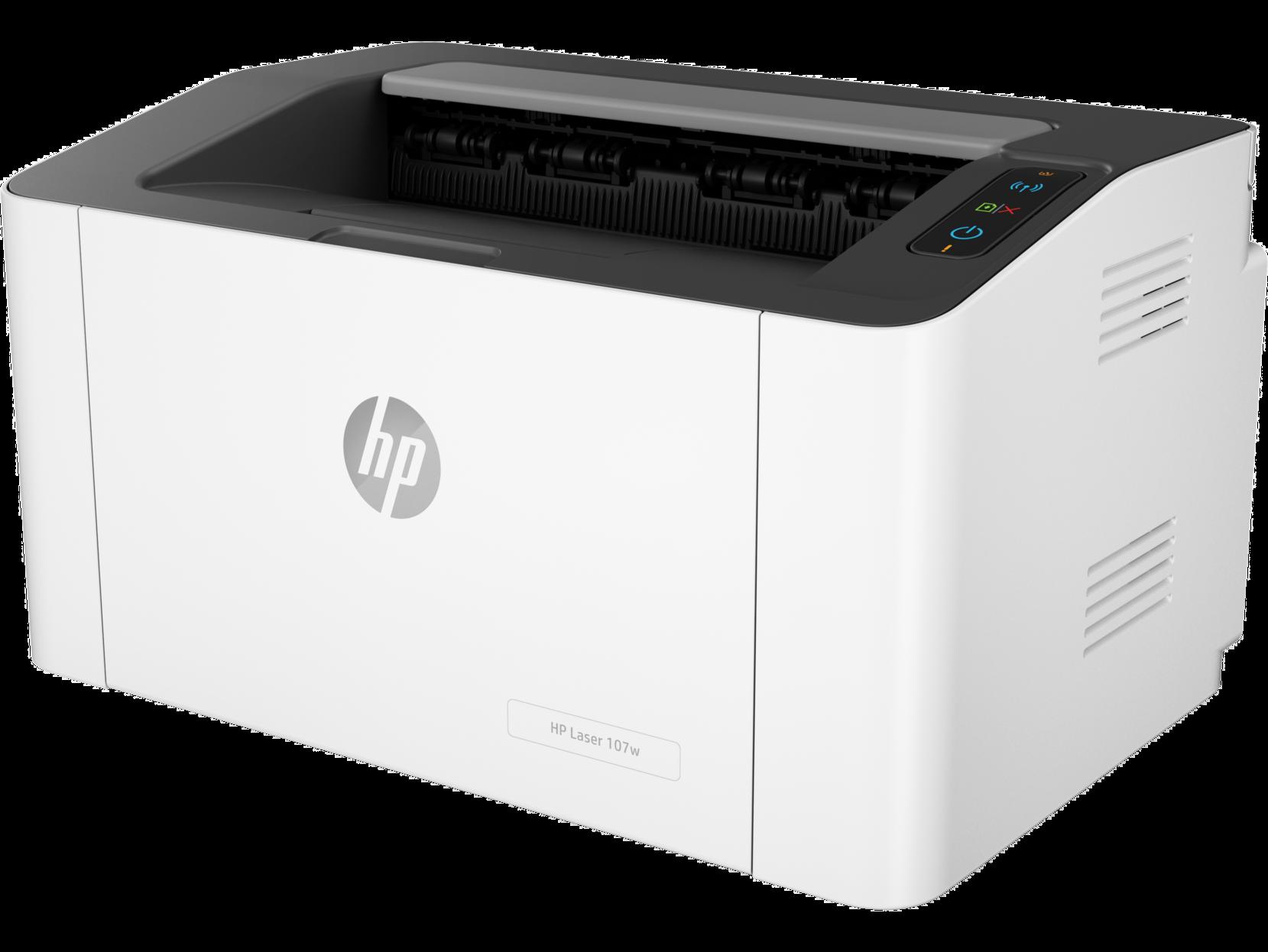 Монохромный лазерный принтер HP Laser 107w, Белый, Китай  - купить со скидкой