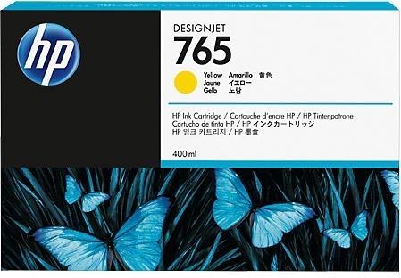 Струйный картридж HP 765 Yellow (F9J50A) фото