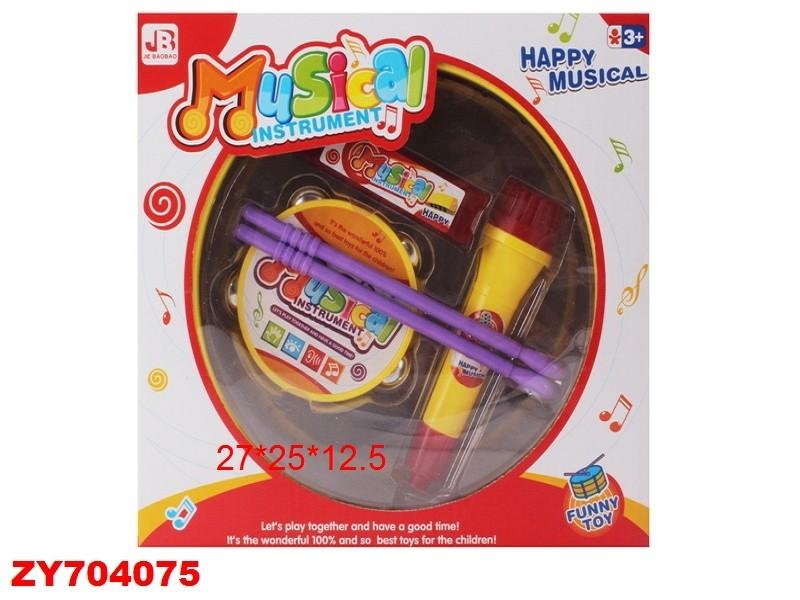 Купить SHANTOU Набор Музыкальные инструменты [ZY704075], пластик, Детские музыкальные инструменты
