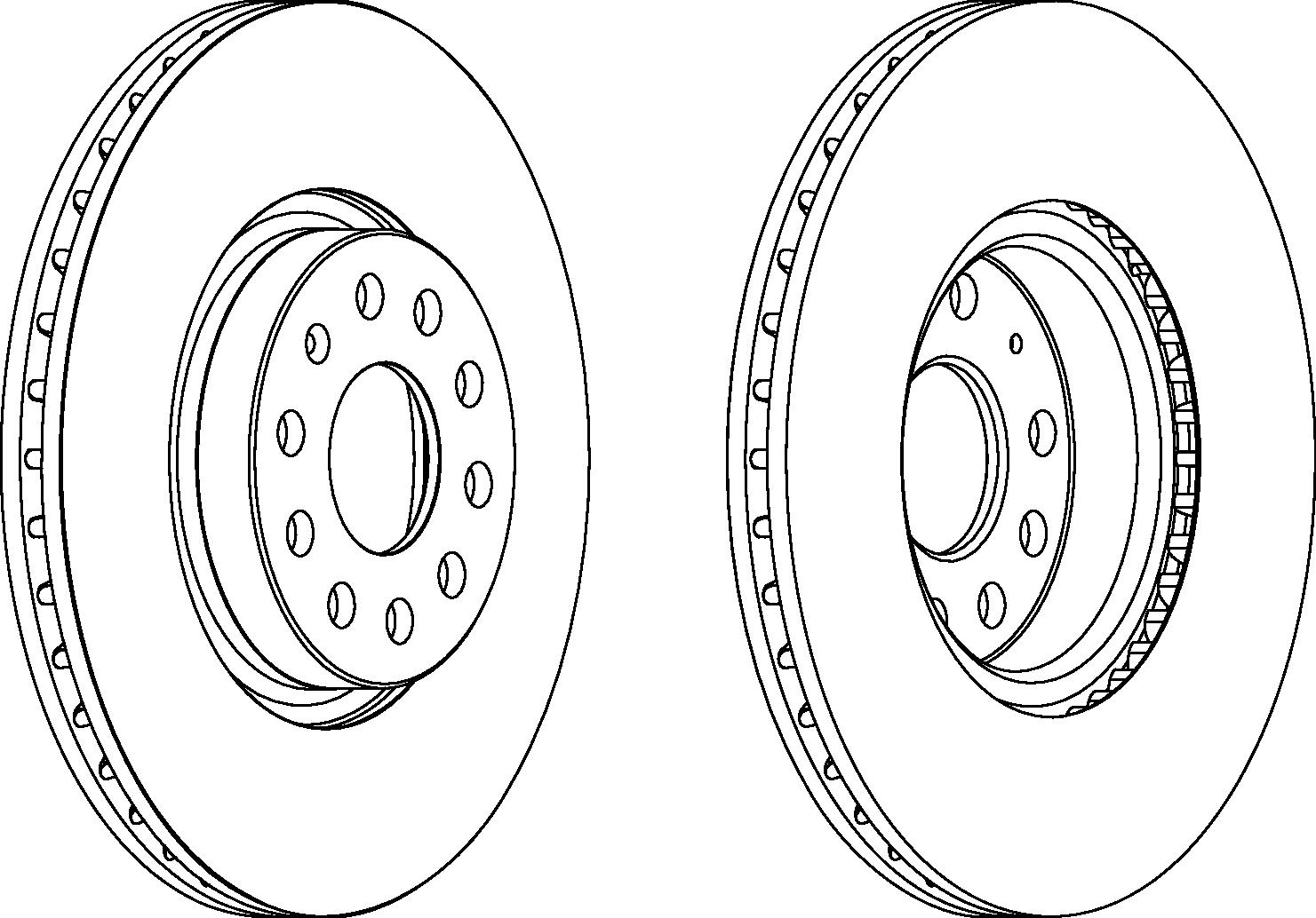 Диск тормозной передний FERODO DDF1305 фото