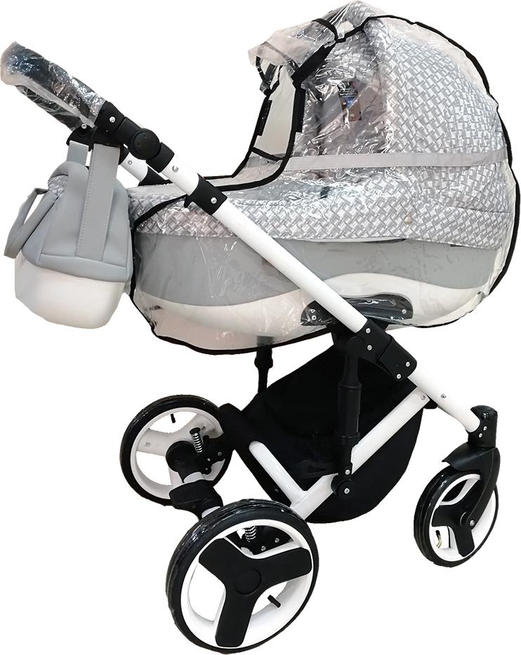 Купить BAMBOLA Дождевик со светоотражающими элементами КЛАССИКА окошко на липучке ПВХ [011ВS], Аксессуары для колясок и автокресел