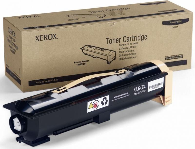 Тонер-картридж Xerox 113R00737 Black фото
