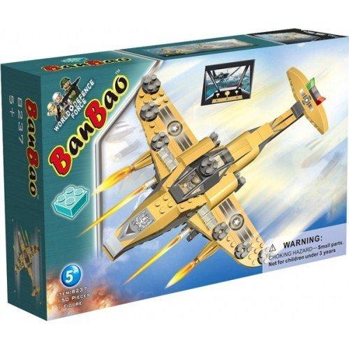 Купить BANBAO Конструктор Военный самолет , 150 деталей [8237], Китай, Конструкторы