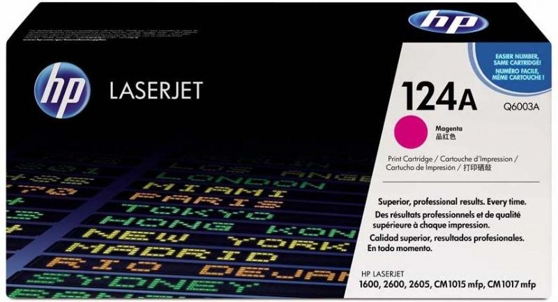 Лазерный картридж HP 124A Magenta (Q6003A) фото