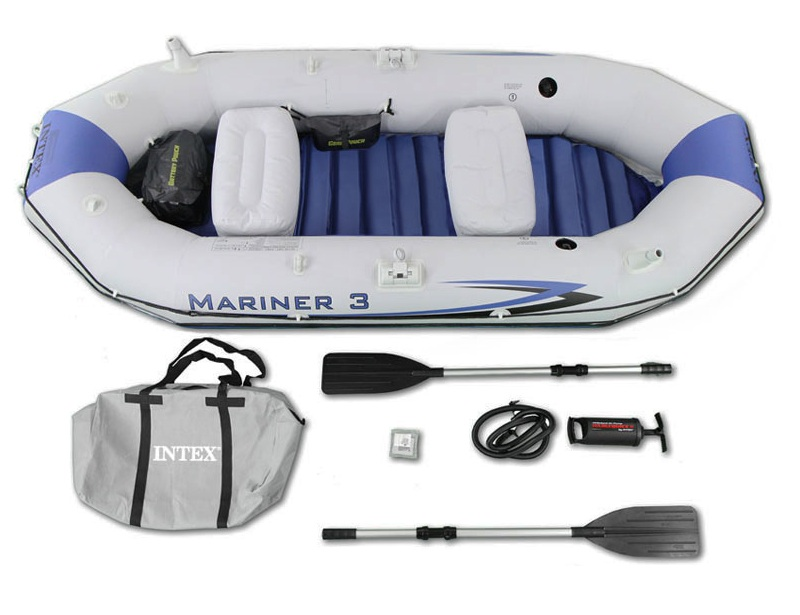 Лодка надувная Intex Mariner 3 (68373) 127x297x46 см С68373 INT_68373