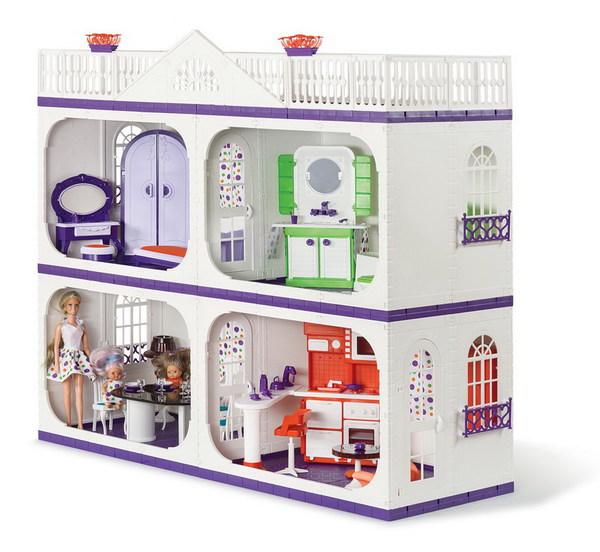 Купить ОГ1402, ОГОНЕК Усадьба Конфетти [С-1402], пластик, Для девочек, Россия, Кукольные домики