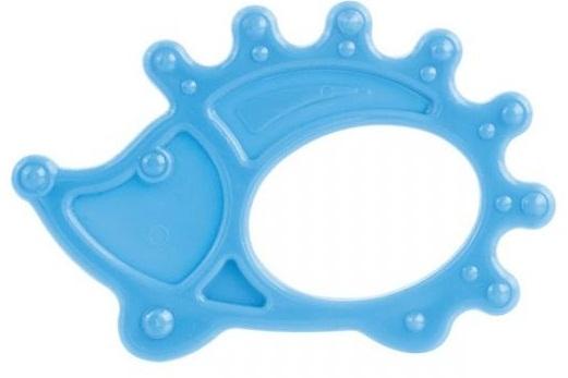 Купить CANPOL Прорезыватель мягкий Canpol Ежик , цвет: голубой [блистер на картоне], Голубой, термопластичная резина, Погремушки и прорезыватели