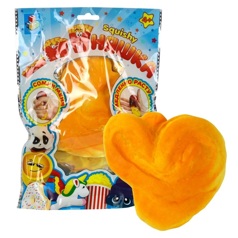 Купить 1 TOY игрушка-антистресс мммняшка squishy (сквиши), булочка [Т12429], Для мальчиков и девочек, Игрушки-антистресс