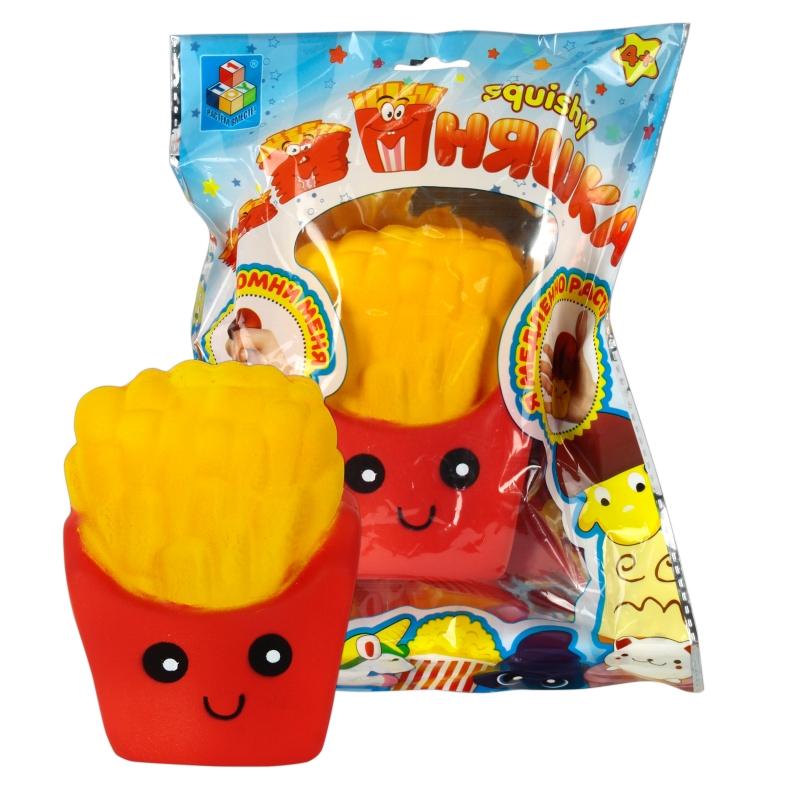 Купить 1 TOY игрушка-антистресс мммняшка squishy (сквиши), картофель фри [Т12323], Для мальчиков и девочек, Игрушки-антистресс
