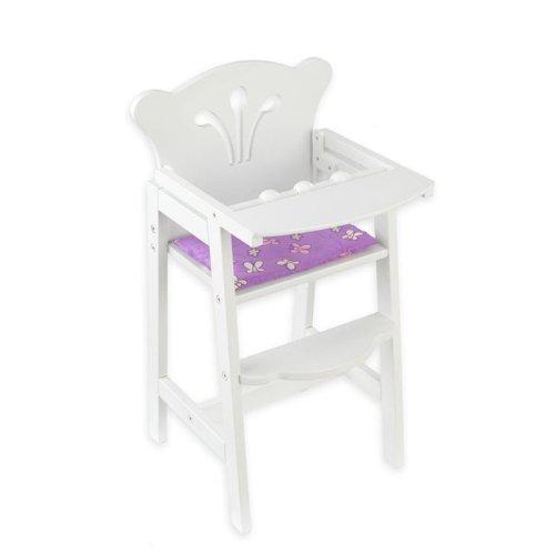 Купить KIDKRAFT Кукольный стульчик для кормления [61101_KE], 34 x 31 x 58 см, Мебель для кукол