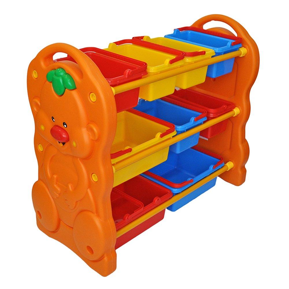 Купить QQ12070-5, QIAOQIAO Стеллаж для игрушек с ящиками 90х42ч80 см, Qiao qiao, Китай, Принадлежности для хранения игрушек
