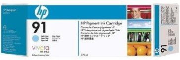 Купить Струйный картридж HP 91 Cyan (C9467A), Сyan (Голубой), Китай