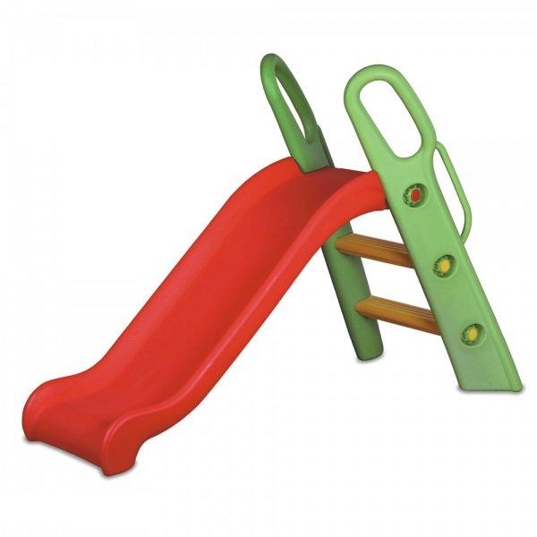 Купить KING KIDS Детская пластиковая горка [KK_SL9020], Красный+Зеленый, 95 x 129 x 38 см, Игровые и спортивные комплексы и горки