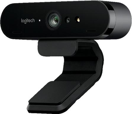 Купить Веб-камера Logitech Brio (960-001106), Logitech Webcam BRIO, Черный, Швейцария