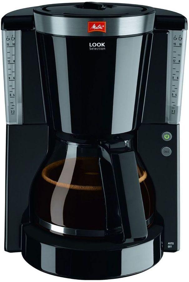 Кофеварка MELITTA Look IV Selection, капельная, черный [6708092] фото