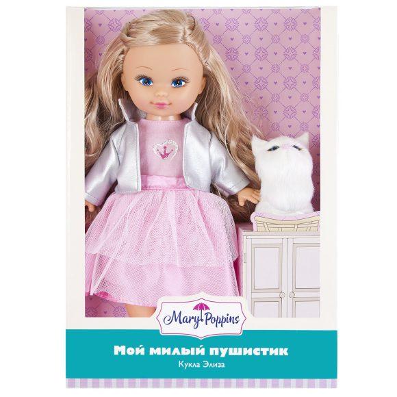 Купить MARY POPPINS Кукла Элиза Мой милый пушистик, 26см, котенок. [451236], пластик, ПВХ, Текстиль, Для девочек, Куклы и пупсы