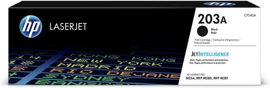 Лазерный картридж HP 203A Black (CF540A) фото