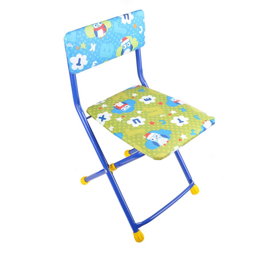 Купить НИКА Стул детский складной мягкий моющийся ПТИЧКИ (Совушки) [СТУ3], Детские стулья и табуреты