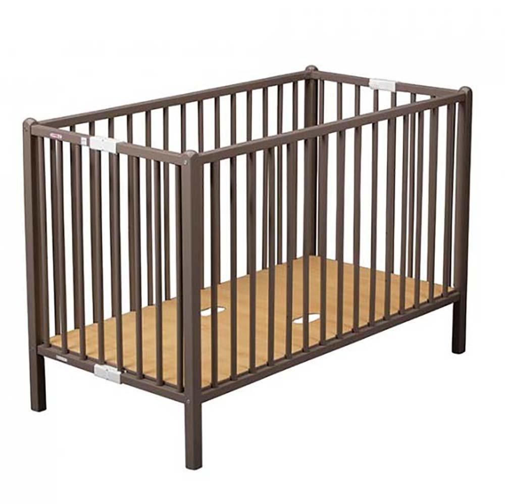 Купить 2066, COMBELLE Кровать 120х60 ROMEO 3-х уров. Hazel / Ореховый, Франция, Кроватки детские