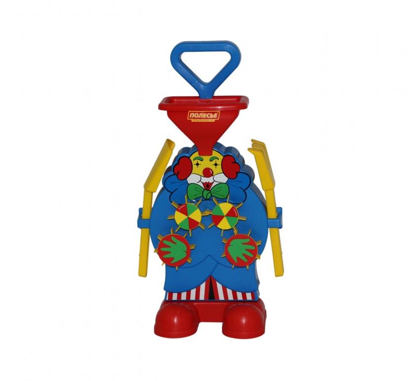 Купить ПОЛЕСЬЕ Набор №498: Песочная мельница Клоун [48448P], пластик, Детские наборы в песочницу