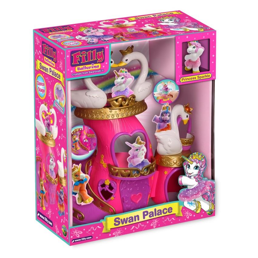 Купить DRACCO Набор игровой Filly Балерина. Лебединый замок [D174006-00B0], Китай, Играем в салон красоты