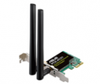 Wi-Fi Адаптер ASUS PCE-AC51 802.11ac Dual-band Wireless-AC750 PCI-E Adapter