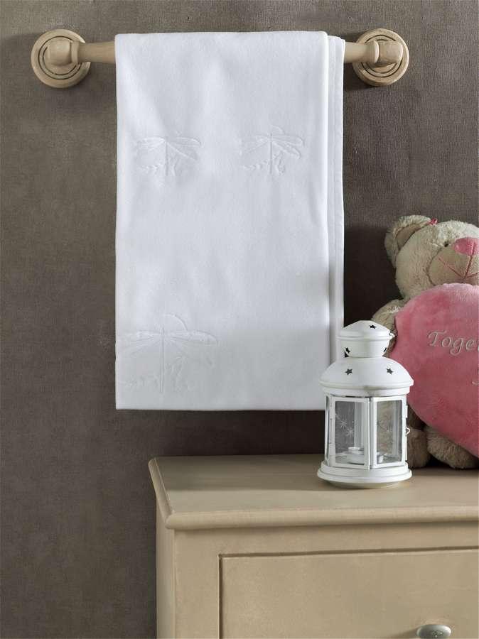 Купить KIDBOO Плед White Dreams флисовый [00-0012044], Белый, Для мальчиков и девочек, Покрывала, подушки, одеяла для малышей