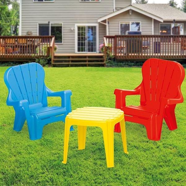 Купить DOLU Набор: Стол + 2 стула [DL_3007], Комплекты мебели для детских комнат
