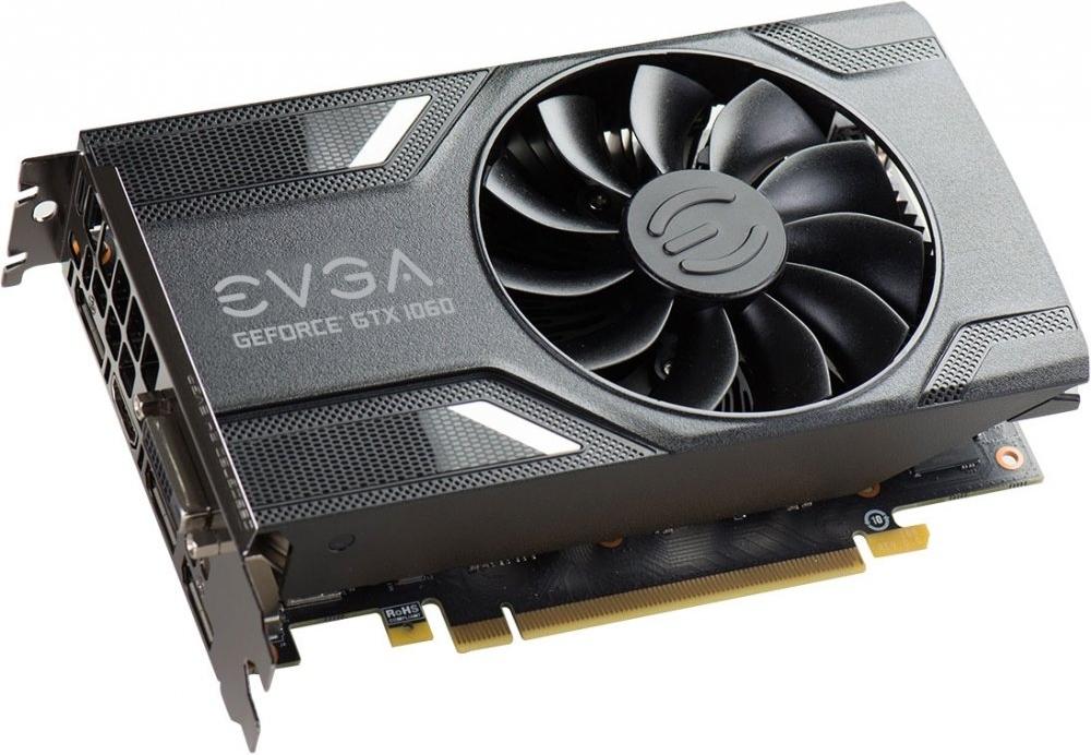 Купить Видеокарта nVidia GeForce GTX1060 EVGA GAMING PCI-E 6144Mb (06G-P4-6161-KR), NVIDIA GeForce GTX 1060