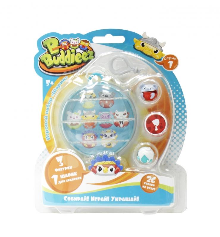 Купить 1 TOY Bbuddieez набор шарик-шкатулка с подвеской и 3 шарма, для хранения 8 шармов, [Т59261], Для девочек, Игровые наборы и фигурки для детей