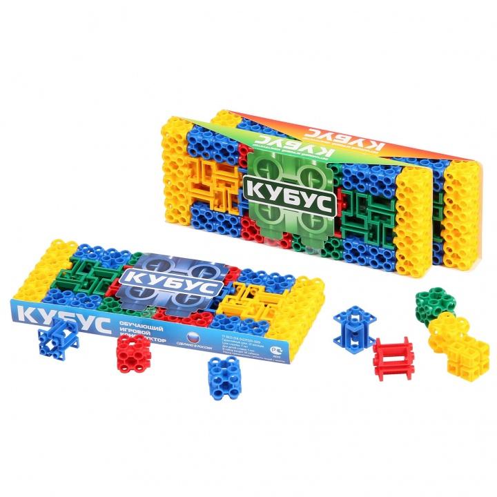 Купить Конструктор БИПЛАНТ 11029 Кубус (малая упаковка 40 элементов) новый, пластик, Для мальчиков и девочек, Россия, Конструкторы