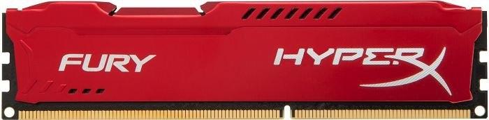 Оперативная память DIMM 4 Гб DDR3 1866 МГц HyperX Fury Red (HX318C10FR/4) PC-15000