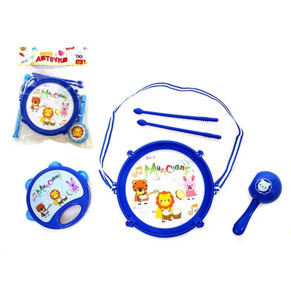 Купить НАША ИГРУШКА Набор инструментов Музыканты , 5 предметов [M8907-5], пластмасса, Детские музыкальные инструменты