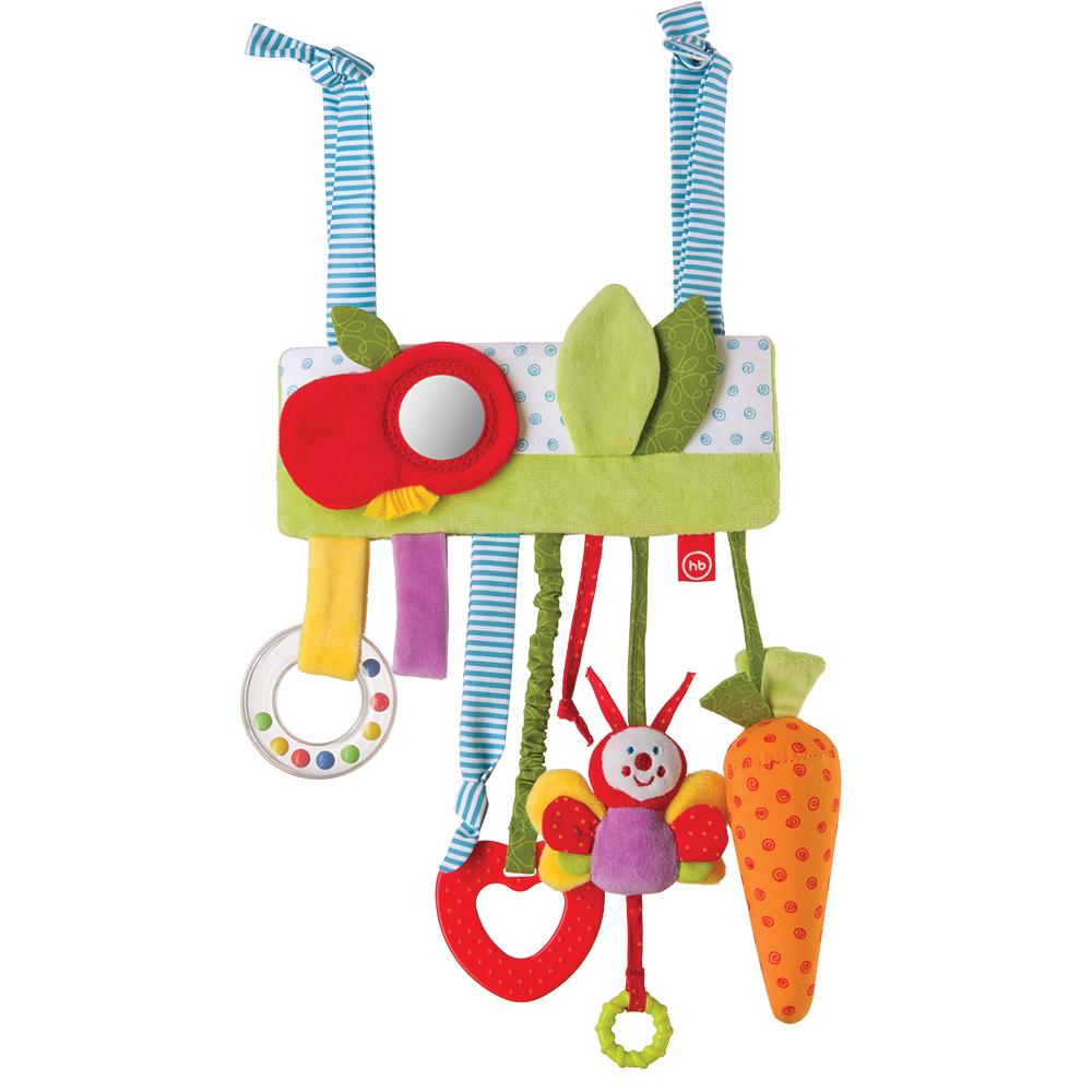 Купить Подвеска HAPPY BABY 330355 JOLLY GARDEN, Хлопок, Этиленвинилацетат, полиэстер, синтетические волокна, Подвески для малышей